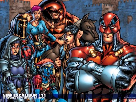 New Excalibur (2005) #11 Wallpaper