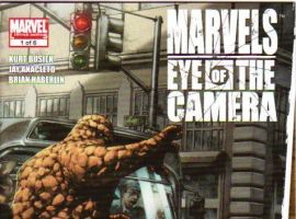 MARVELS: EYE OF THE CAMERA #1 cover by Jay Anacleto