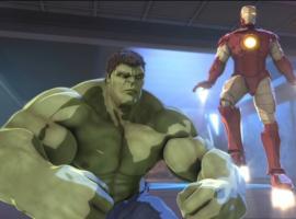 Screenshot from Marvel's Iron Man & Hulk: Heroes United