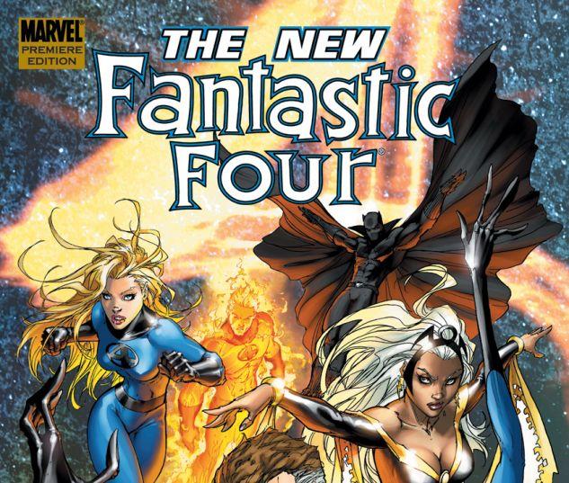 Fantastic Four: The New Fantastic Four (2008) HC