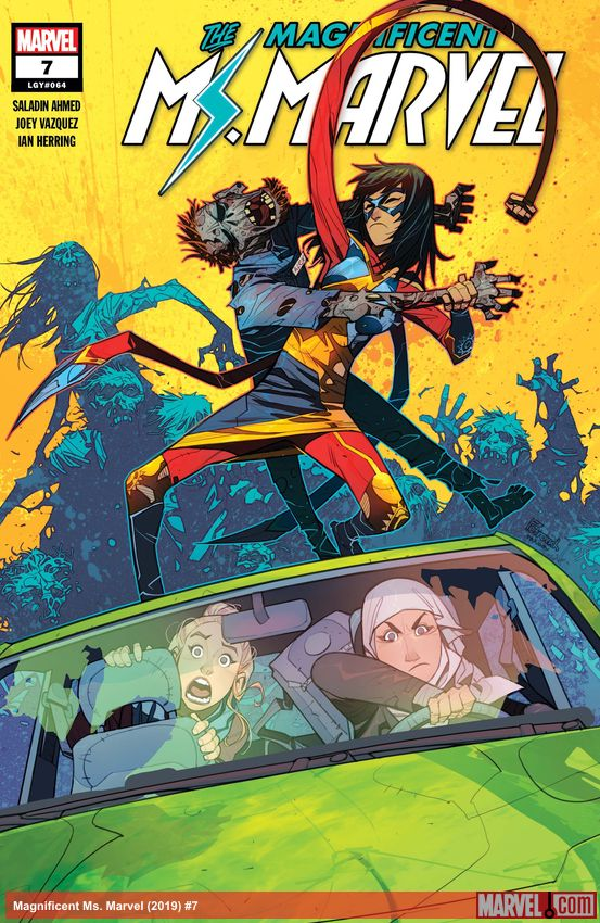 Magnificent Ms. Marvel (2019) #7