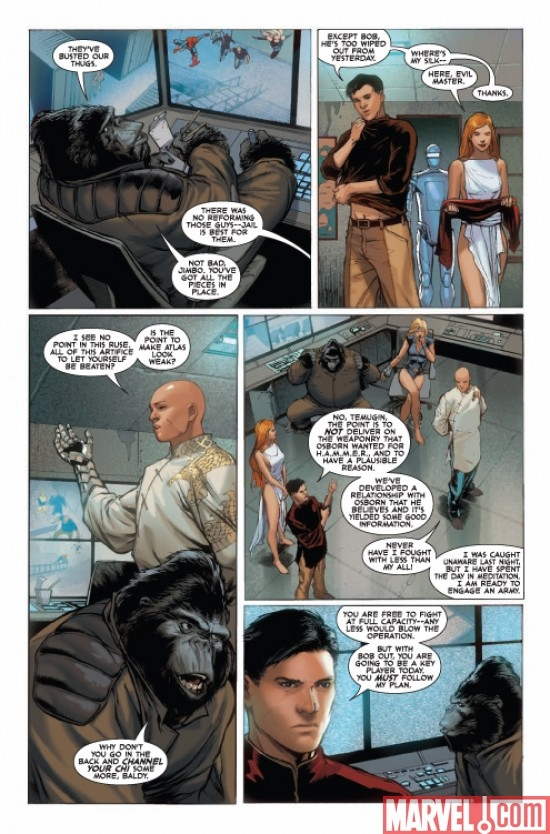 AGENTS OF ATLAS #5, page 4