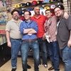 Tom Brevoort, Nick Lowe, Mark Paniccia, Axel Alonso and C.B. Cebulski at Midtown Comics