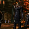 Screenshot of Nemesis, Wesker and Chris Redfield from Ultimate Marvel vs. Capcom 3