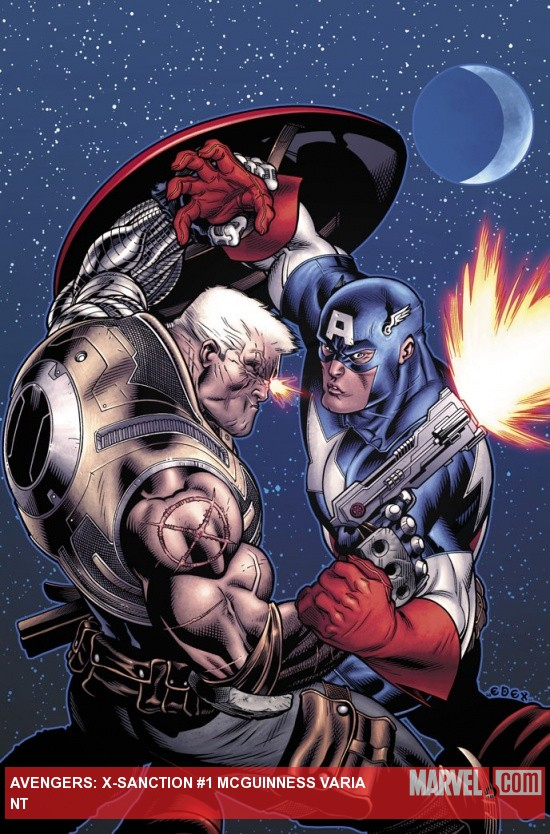 Avengers: X-Sanction #1 cover by Ed McGuinness