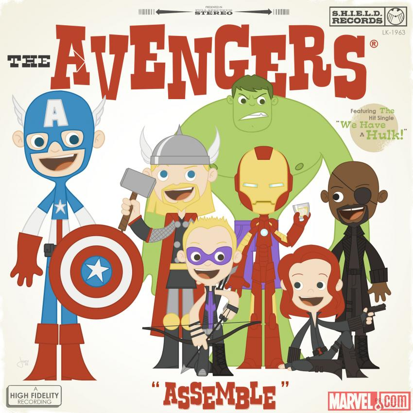 Marvel's The Avengers Art by Joey Spiotto. TM & © 2012 Marvel & Subs. www.marvel.com.