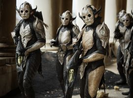 Malekith's army in Marvel's Thor: The Dark World