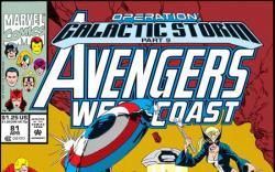Avengers West Coast #81