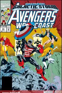 Avengers West Coast (1985) #81