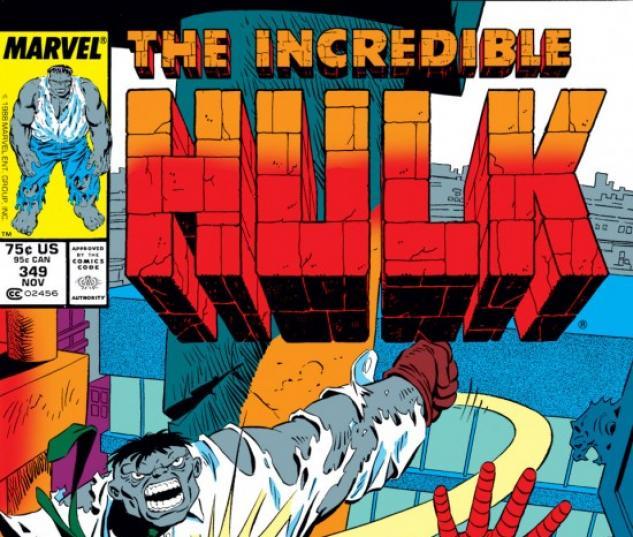 INCREDIBLE HULK #349 COVER