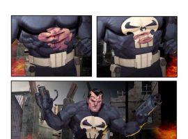 Punisher War Journal #12 Interior Art