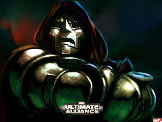 Marvel Ultimate Alliance: Dr. Doom Glaring
