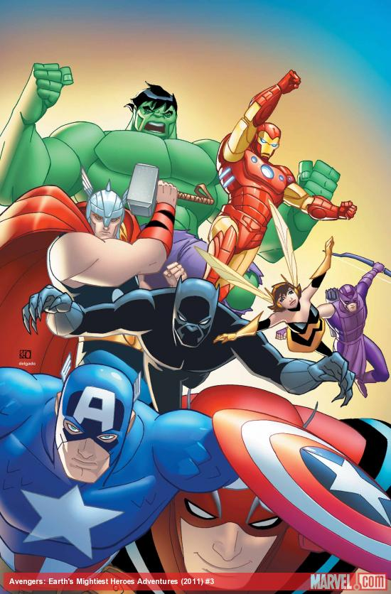 Avengers: Earth's Mightiest Heroes #3 cover art by Khoi Pham