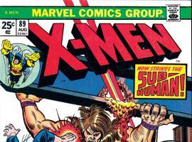 Uncanny X-Men #89 Cover