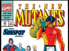 New Mutants (1983) #99 Cover