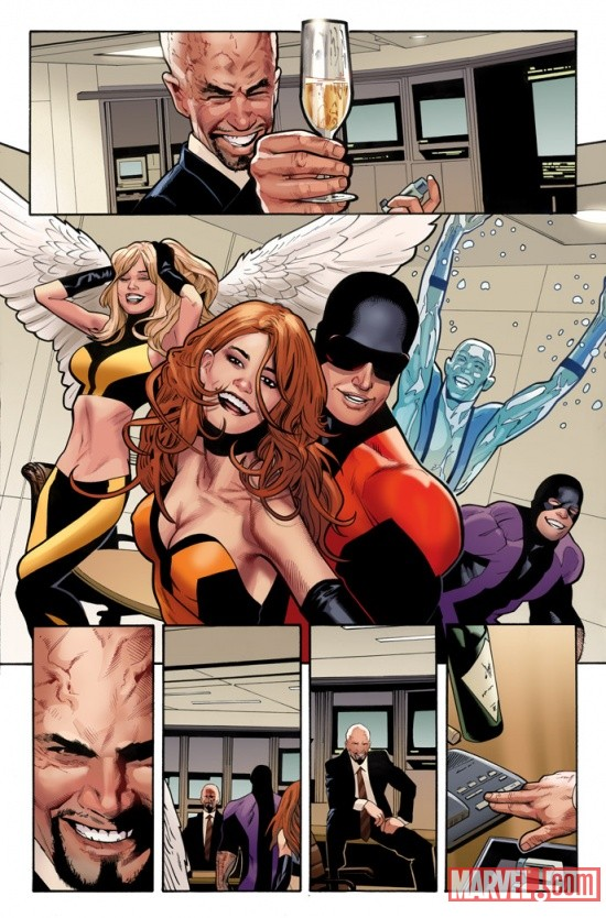 Uncanny X-Men #531 preview art by Greg Land