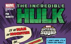 Incredible Hulks (2009) #602, SHS VARIANT