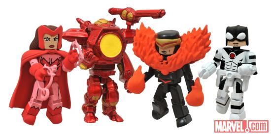 Avengers vs X-Men Marvel Minimates Figures