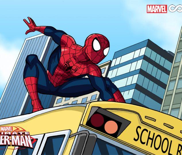 Marvel Universe Ultimate Spider-Man Infinite Comic preview art