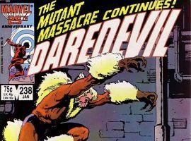 Daredevil #238 cover