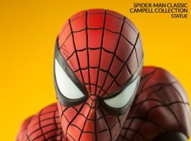 Spider-Man Classic Polystone Statue by Sideshow Collectibles