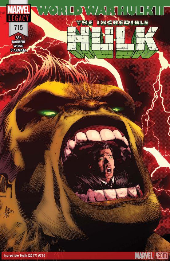 Incredible Hulk (2017) #715
