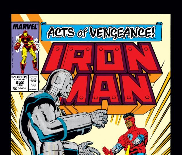 Iron Man (1968) #252 Cover