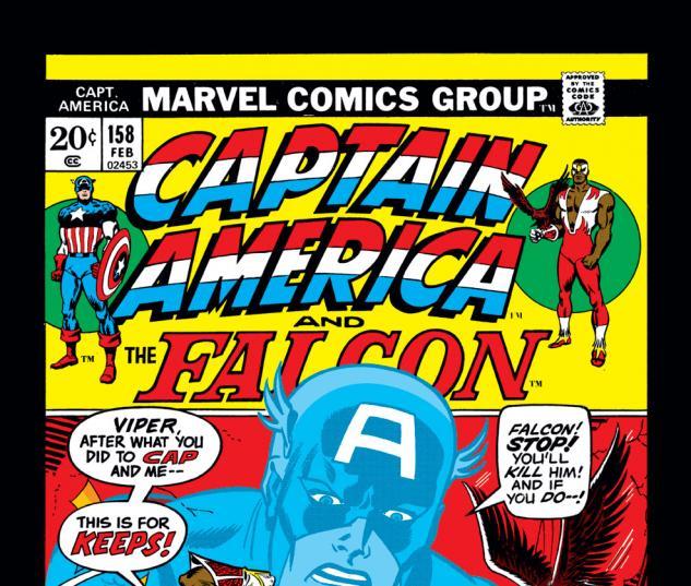 Captain America (1968) #158 Cover