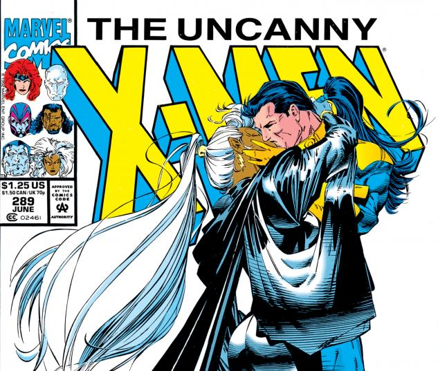 Uncanny X-Men (1963) #289 Cover
