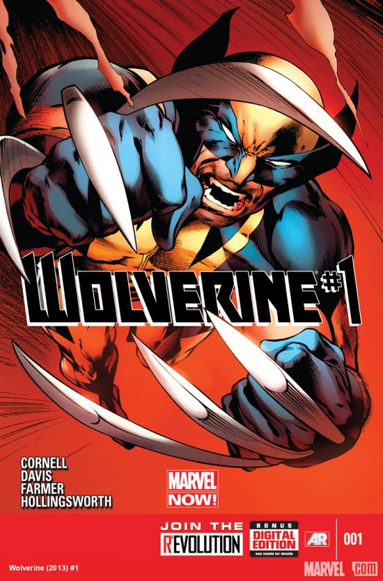cover from Wolverine (2013) #1