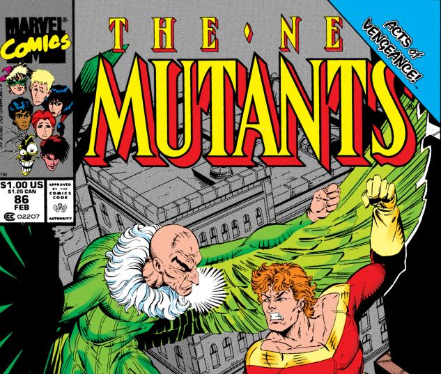 Cover from New Mutants (1983) #86