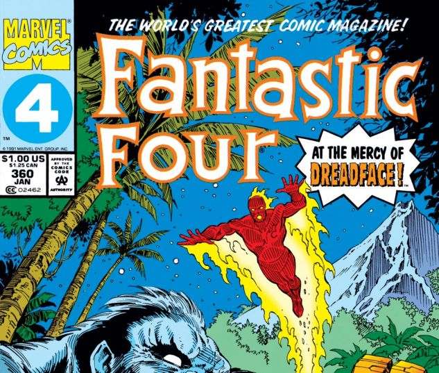 Fantastic Four (1961) #360 Cover