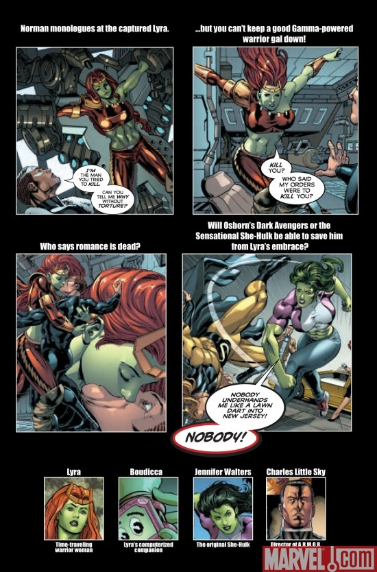SAVAGE SHE-HULK #4, intro page