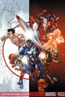 Avengers/Invaders (2008) #7 (FERRY VARIANT)