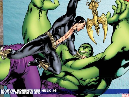 Marvel Adventures Hulk (2007) #6 Wallpaper