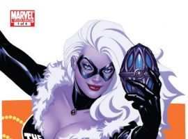 Amazing Spider-Man Presents: Black Cat #1 cover by Amanda Conner