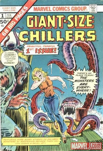 GIANT-SIZE CHILLERS #1 cover