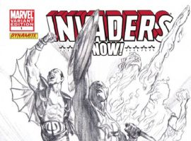 INVADERS NOW! #1 Sketch Variant Cover art by Alex Ross