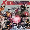 Image Featuring Magneto, Rogue, Wolverine, Archangel, Cannonball, Colossus, Cyclops, Emma Frost