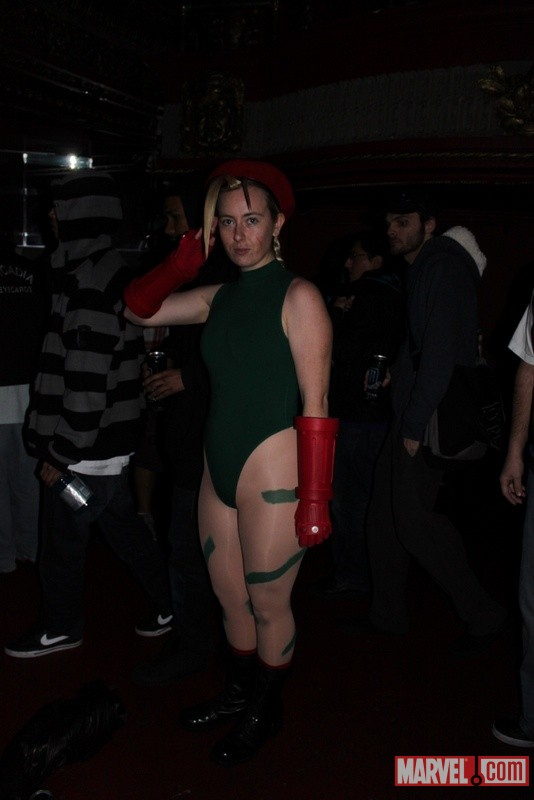 Cammy cosplayer from the Marvel vs. Capcom 3 Fight Club