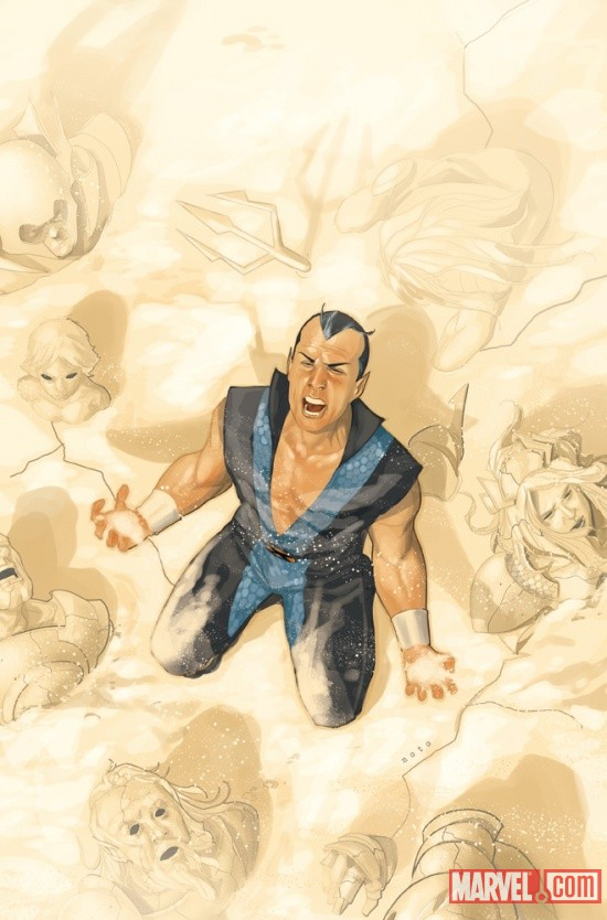 Namor: The First Mutant #8 Cover