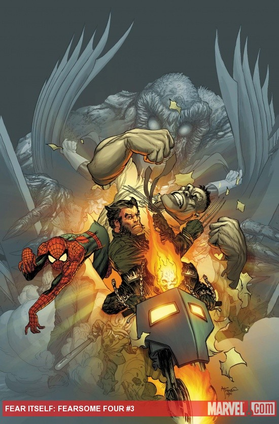 Fear Itself: Fearsome Four #3 cover