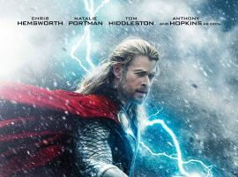 Chris Hemsworth stars as Thor in the first poster for Marvel's Thor: The Dark World