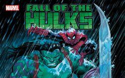 INCREDIBLE HULK: FALL OF THE HULKS (HARDCOVER) cover art
