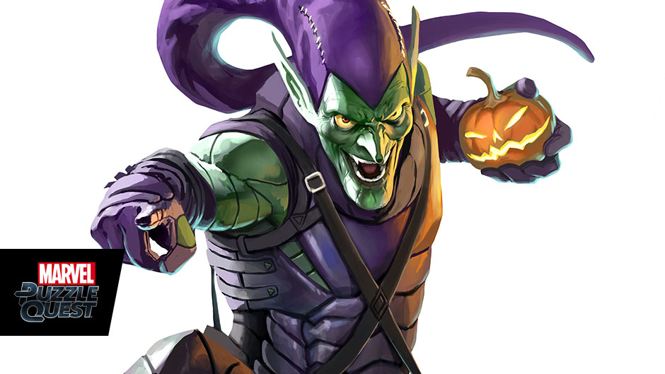 piecing together marvel puzzle quest green goblin games