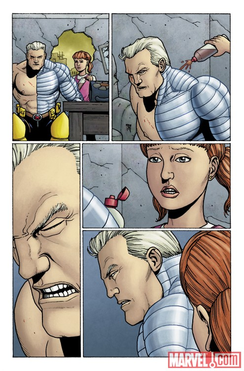 Art From X-MEN: A GIRL NAMED HOPE