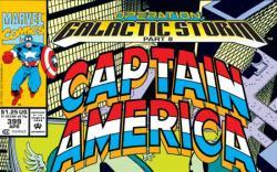 CAPTAIN AMERICA #399 COVER