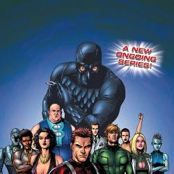 SQUADRON SUPREME (2007) #1 COVER