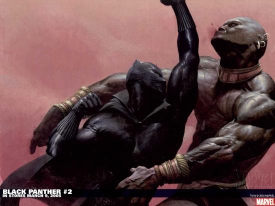 Black Panther (1977) #2 Wallpaper