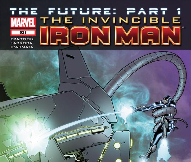 Invincible Iron Man (2008) #521